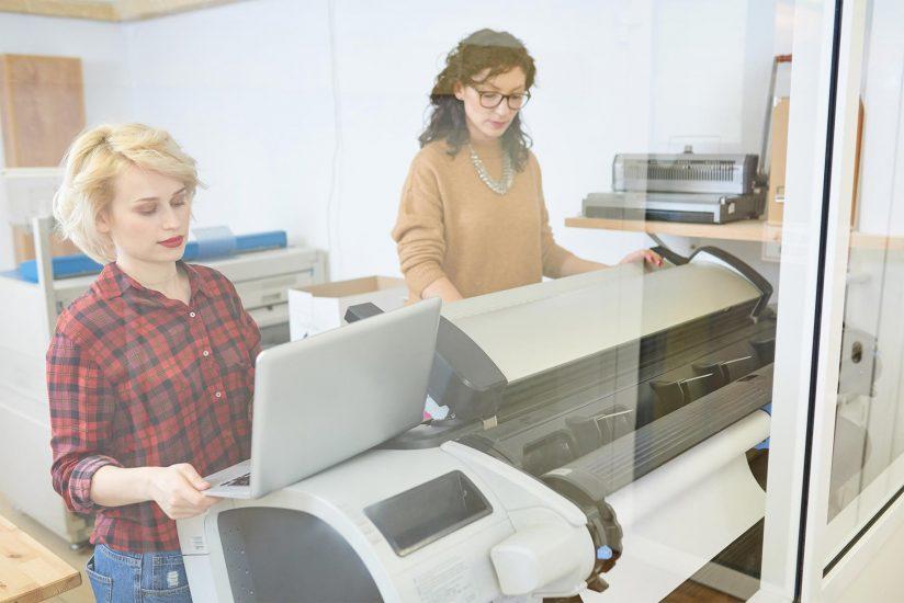 Zakelijk of privé printen met een bedrijfsprinter